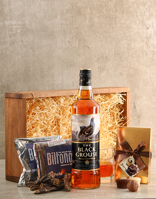 fine-alcohol: Whisky and Biltong Crate!