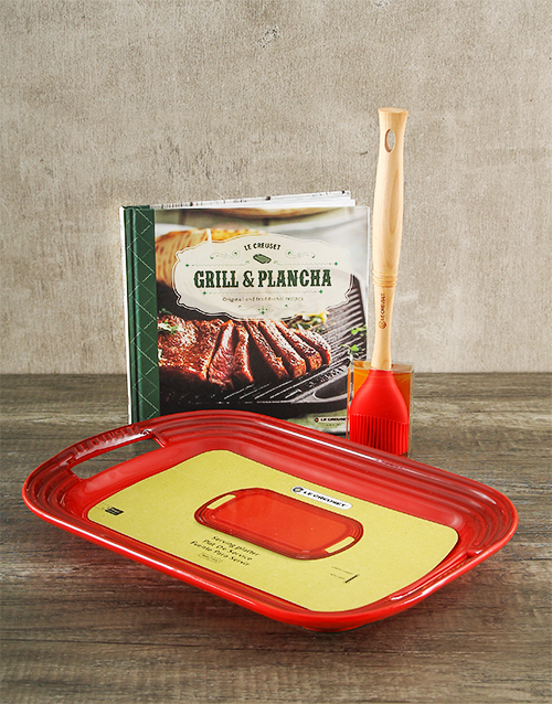 fathers-day: Le Creuset BBQ Gift Set!