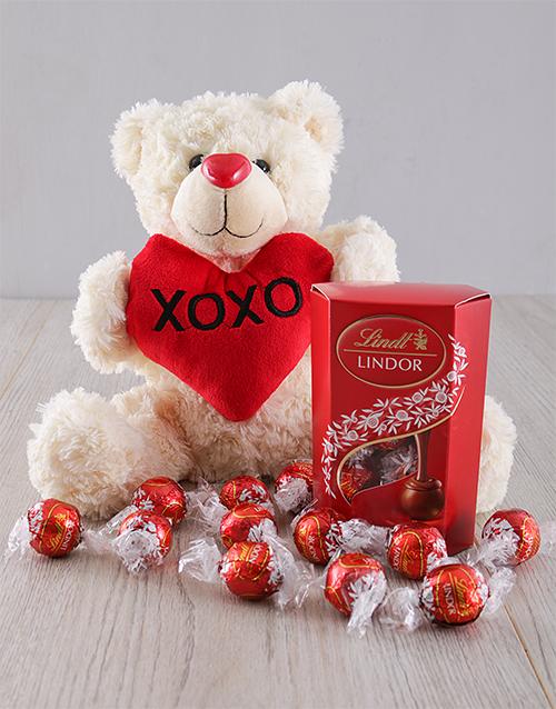 chocolate: I Love You Teddy Gift!