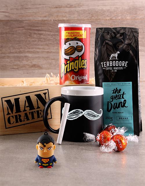 man-crates: Superman & Snacks Man Crate!