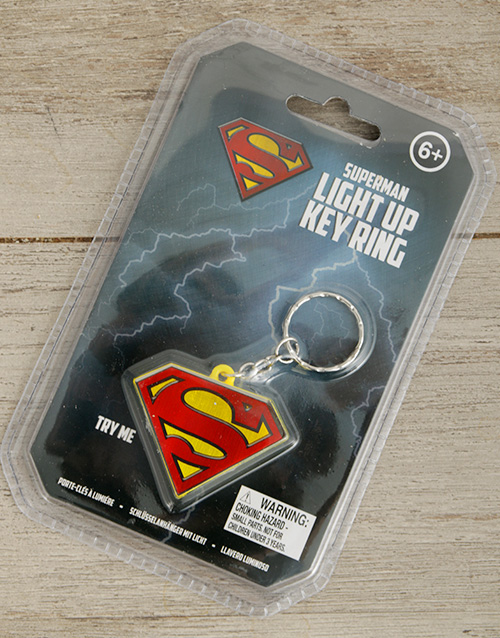 Superman Key Ring | Gadgets | NetFlorist