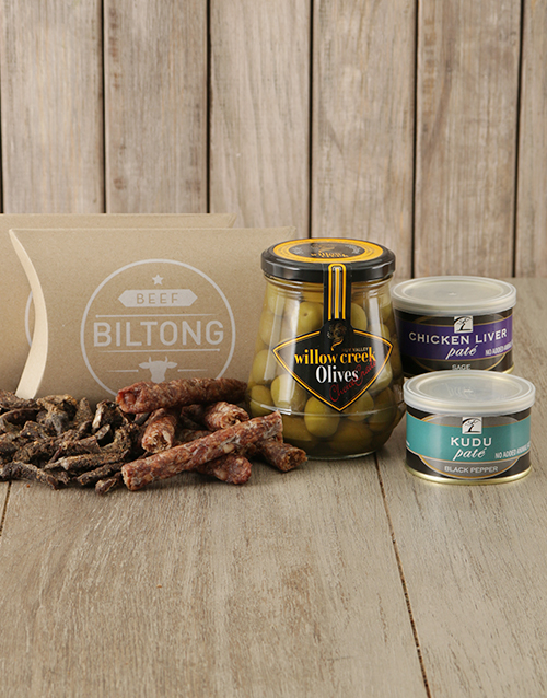 fathers-day: Biltong Olives and Pate Gift!