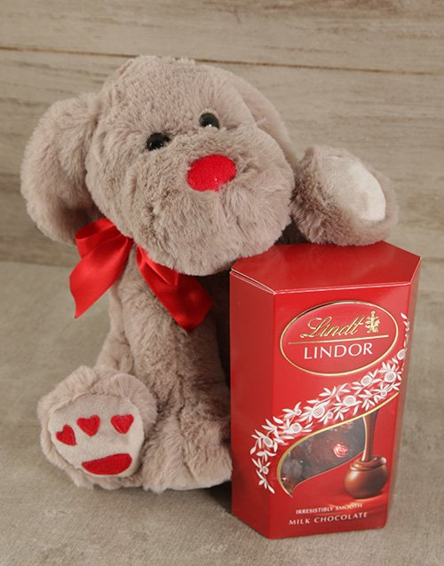 chocolate: Puppy Love Lindor Gift!
