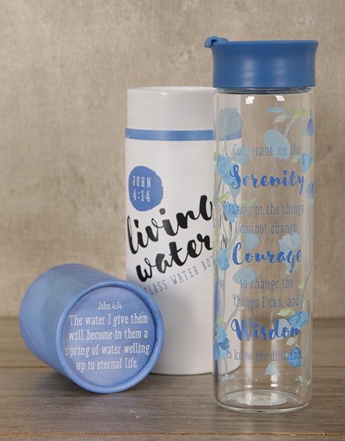 faith: Serenity Water Bottle!