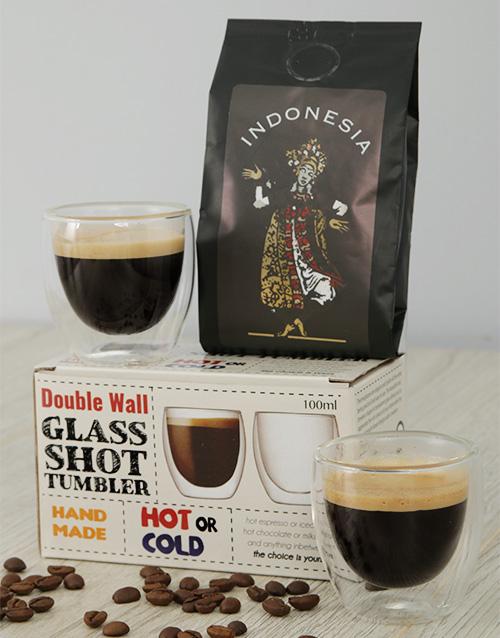 coffee-and-tea: Indonesia Coffee and Coffee Glasses Gift!