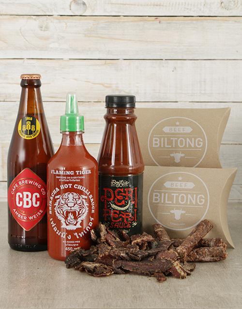 christmas: Hot Sauce and Biltong Hamper!