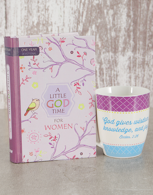 faith: One Year Devotional and Mug Gift!