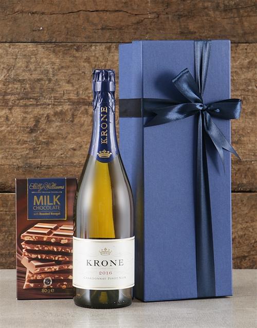 fine-alcohol: Blue Box of Krone!