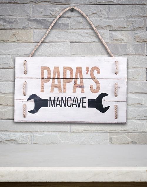 gifts: Man Cave Hanging Panel Art!