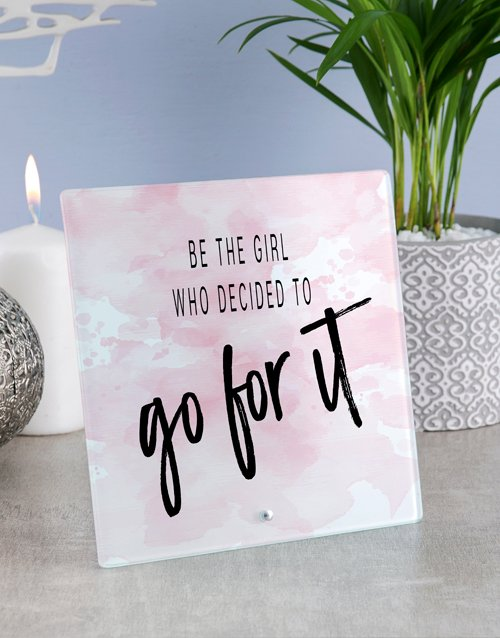 gifts: Go For It Glass Tile!