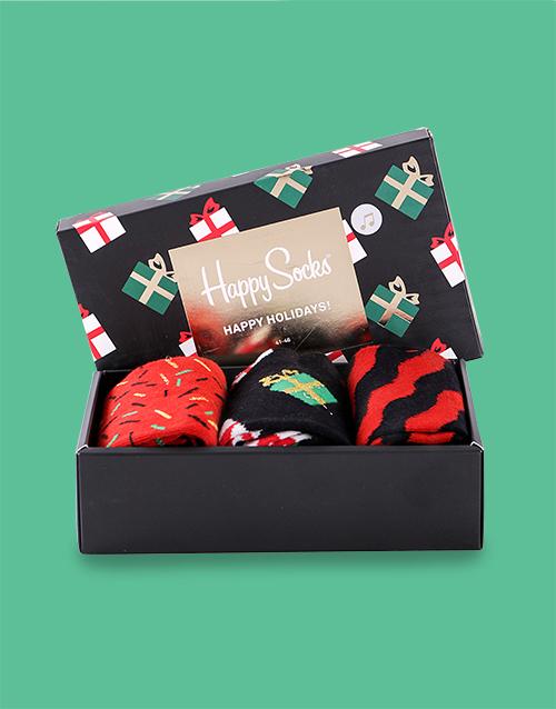 christmas: Festive Singing Happy Socks Giftbox!