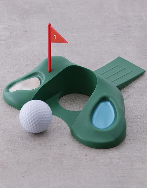 christmas: Golfer Doorstopper!