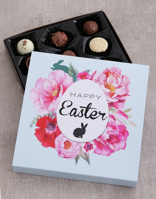 easter: Floral Easter Choc Tray!
