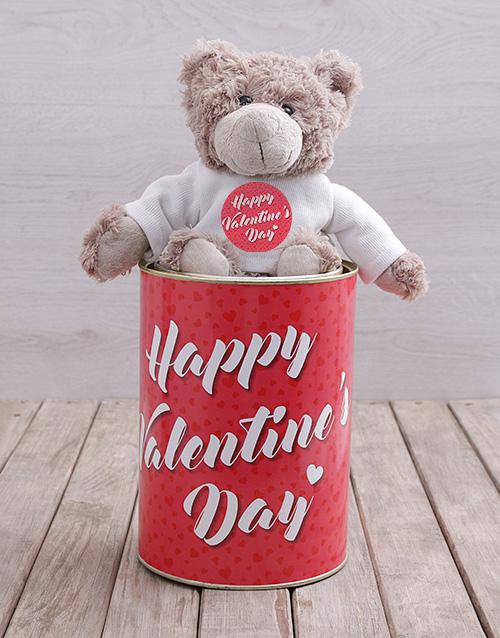 teddy-bears: Valentines Teddy Tin Hamper!