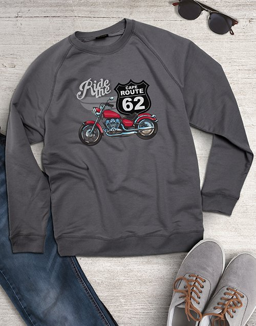 clothing: Historic Route Mens Sweater!