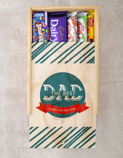 chocolate: Best Dad Chocolate Tray!
