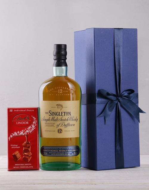 personalised: Blue Box of The Singleton!