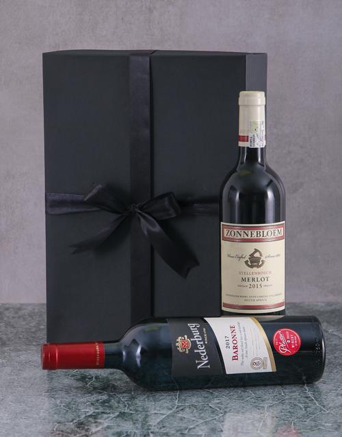 christmas: Red Wine Duo Giftbox!