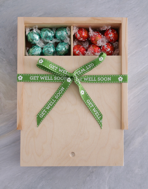 get-well: Get Well Ribbon Lindt Treasure Box!