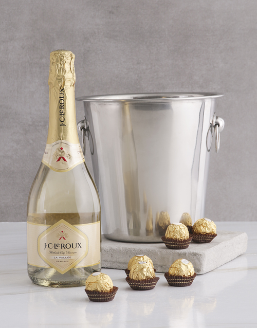 mothers-day: Sparkling White Wine Ice Bucket!