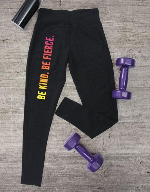 activewear: Be Kind Be Fierce Leggings!