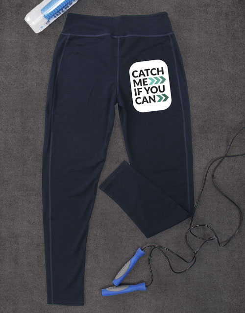 activewear: Catch Me If You Can Leggings!