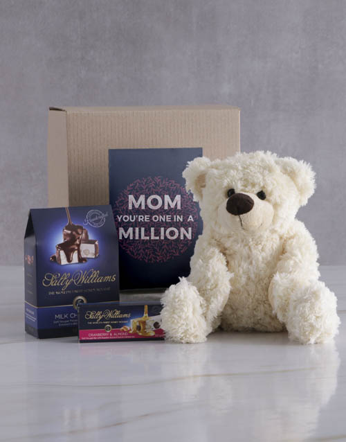 chocolate: One In A Million Teddy and Nougat Hamper!