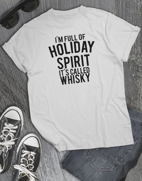christmas: Holiday Spirit T Shirt!
