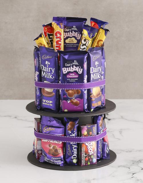 new-years: Cadbury Chocolate Tower!