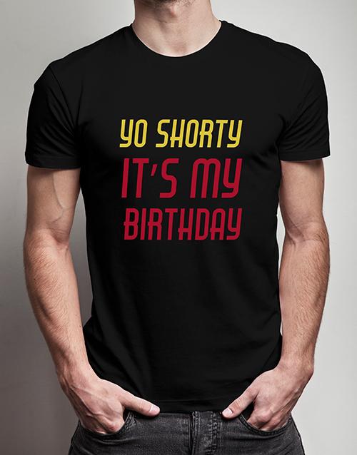 clothing: Yo Shorty T Shirt!