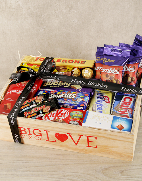 chocolate: Big Love Happy Birthday Crate!