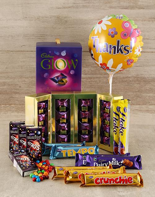 domestic-workers-week: Cadbury Thank You Chocolate Hamper !