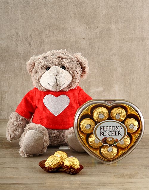 teddy-bears: Love You Madly Valentines Gift Box!