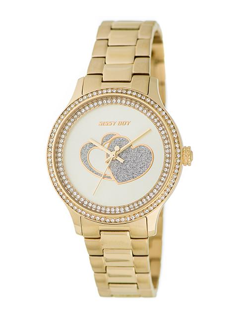 anniversary: Sissy Boy Glamour Gold Watch!