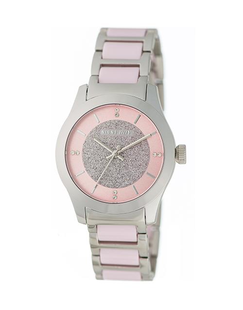 christmas: Sissy Boy Elegance Pink Detail Watch!