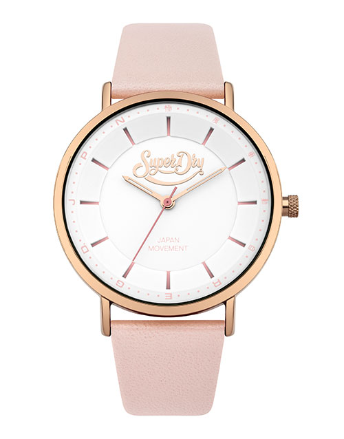 anniversary: Ladies Superdry Rose Gold Oxford Watch!