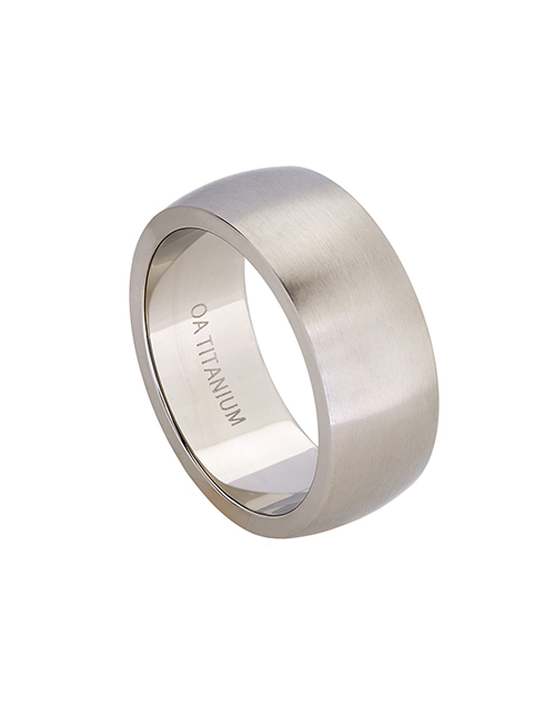 get-well: Titanium Gents 9mm Brushed Wedding Band!