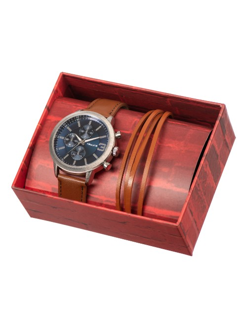birthday: Tomato Gents Tan Watch Set!