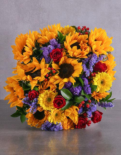 colour: Golden Love Bouquet!