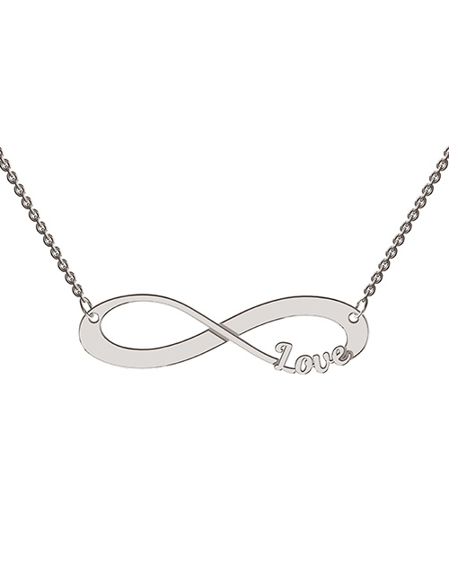 anniversary: Memi Infinity Love Personalised Necklace!