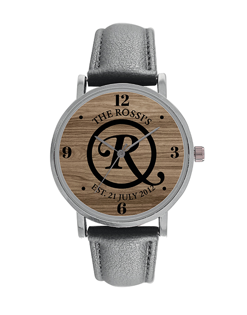 anniversary: Personalised Couple Watch!