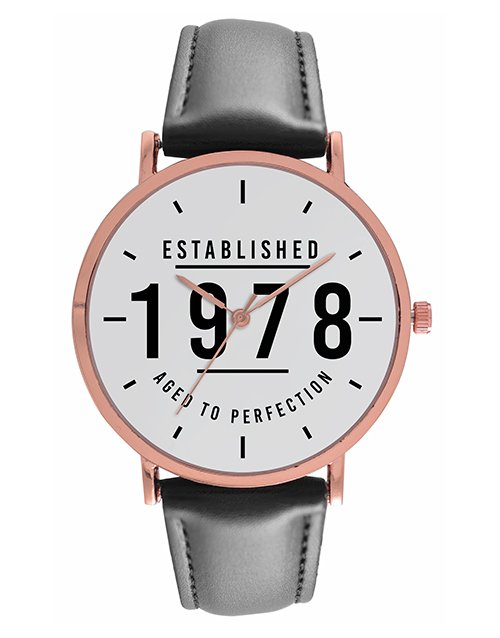 christmas: Gents Aged to Perfection Personalised Watch!
