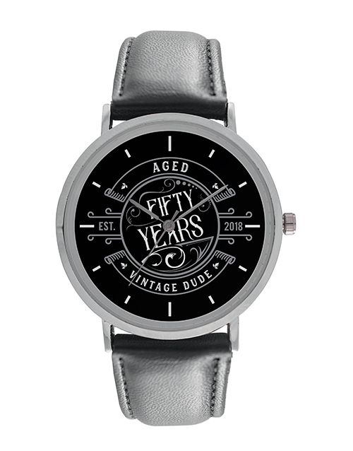 christmas: Digitime Fifty Years Personalised Watch!