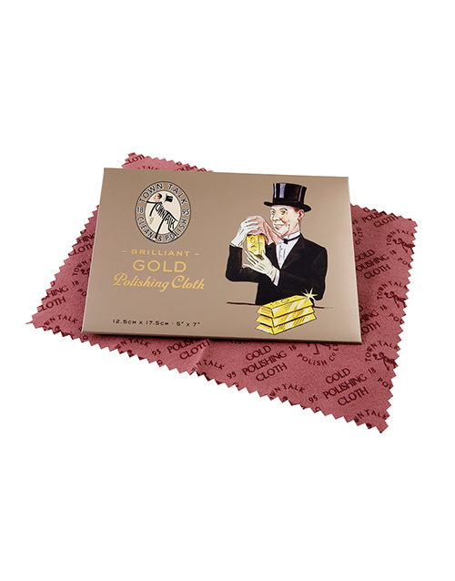get-well: Town Talk Gold Polishing Cloth Pack of 10!