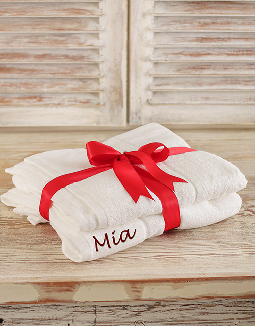 grandparents-day: Personalised Bath Sheets!